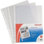 Buste a foratura univ. Copy Safe Esselte - Deluxe 22x30 antiriflesso- 395097600(conf.50)