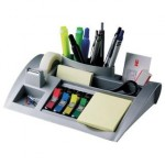 Set da scrivania C50 Post-It - grigio -