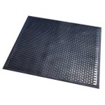 Zerbino in nitrile nero Floortex - 75x85 cm - nero - SC8575